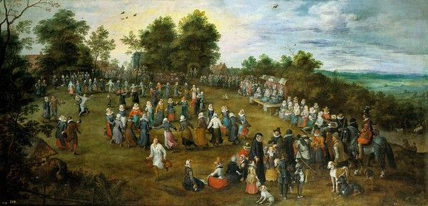 Jan-Brueghel-the-Elder-1623-country-dance-before-the-archiduques-M.