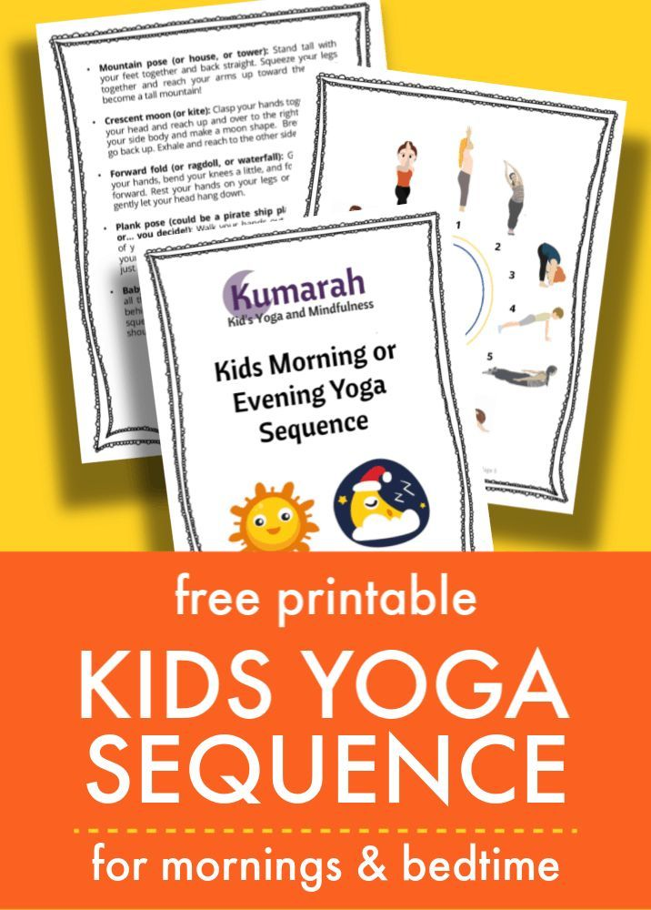 Easy kids yoga sequence for the morning or bedtime – Yoga in Schools