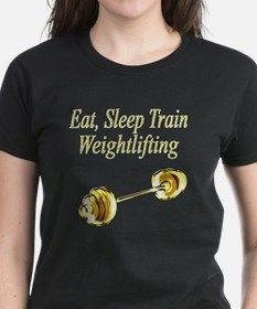 MUSCLE GIRL Tee Female Bodybuilders and Weightlifters will love our black and gold workout designs. http://www.cafepress.com/jlpboutique/7260437 #Femalebodybuilder #Femaleweightlifter #Pumpingiron #Workingout #musclesnotexcuses #Strongwomen