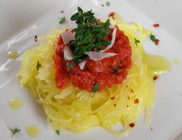 Thumbnail image for Spaghetti Squash & Slow Roasted Tomato Confit