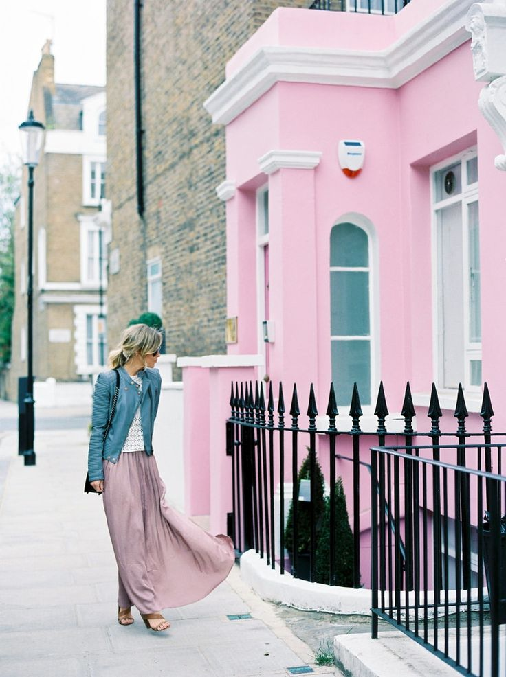 How to Style a Maxi Skirt  #theeverygirl