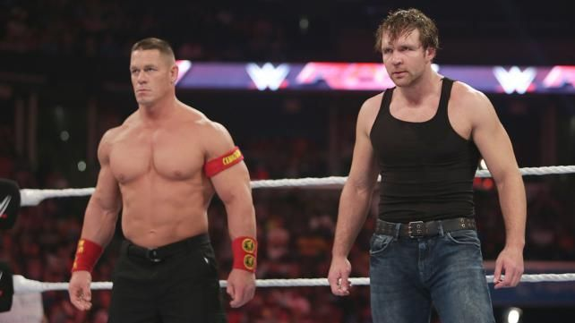 A Feud Between John Cena and Dean Ambrose Is Inevitable | Bleacher Report