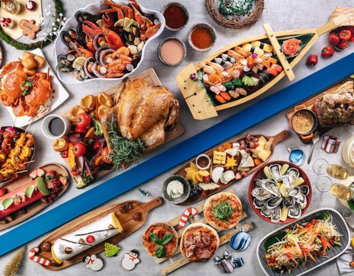 Where To Have Christmas Dinner In Singapore Seafood Dinner Christmas Dinner Menu Holiday Dinner Menu