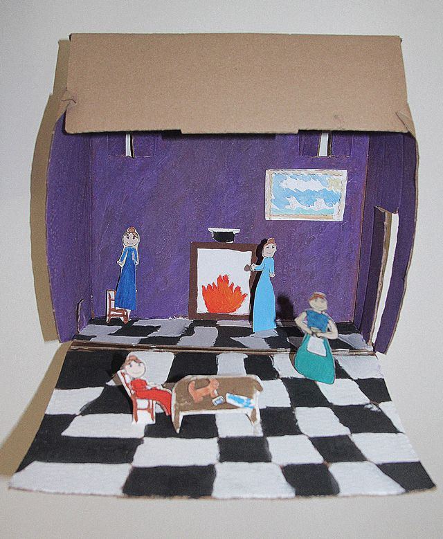 Best 25+ Diorama kids ideas on Pinterest | Shoe box ...