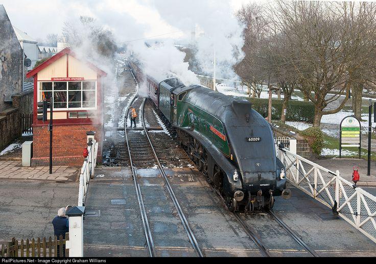 45212 British Railways Steam 4-6-0 at Ramsbottom, United Kingdom by Graham Williams