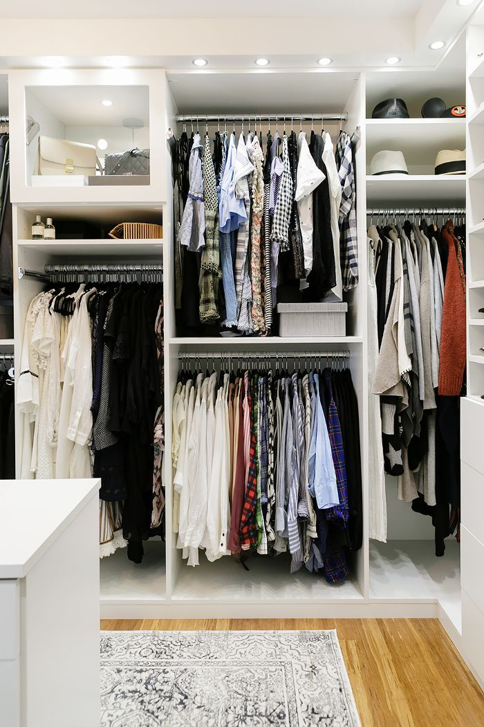 Find out the best stylish walk-in closet ideas from a lifestyle blogger to create a luxe dressing room at home.