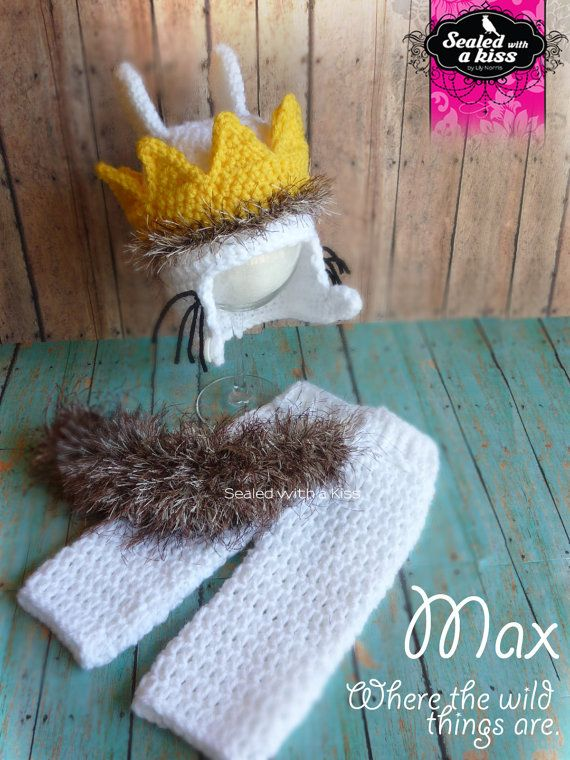 Where the wild thing are outfit, Photo prop Wild things, Max wild things costume,