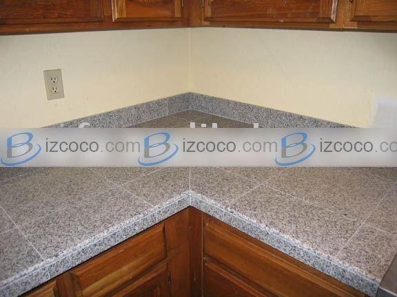 Tile kitchen countertops modular granite tile tile for Modular kitchen slab
