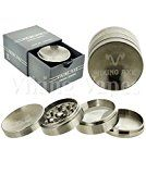 Unishow  4 Part 62mm VIKING AXE Tobacco Spice Herb Weed Parabolic Grinder