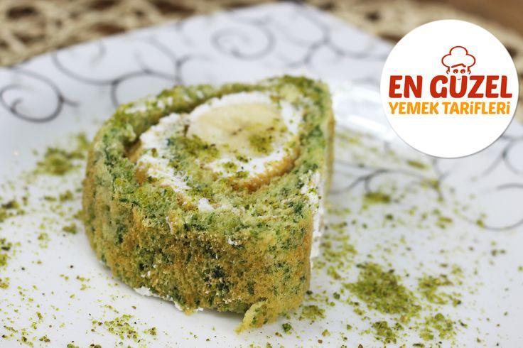 Ispanaklı Rulo Pasta Tarifi. Detaylı video için tıklayın: https://youtu.be/Tv2oWLPF9w0