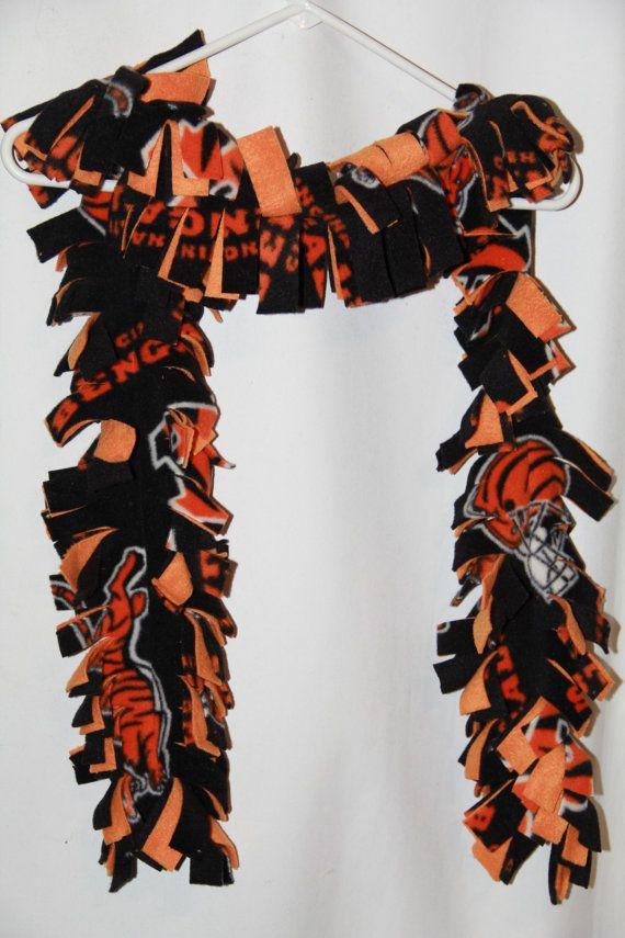 NFL Cincinnati Bengals scarf, fleece