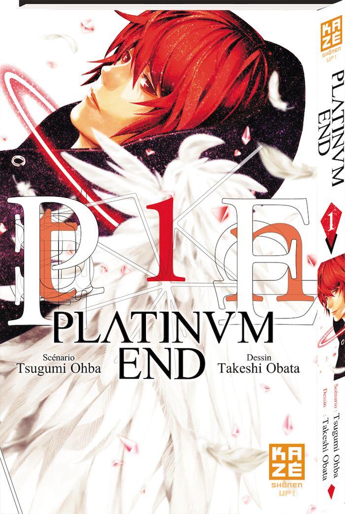 Le grand retour des auteurs de Death Note avec  Platinum End (Kazé)