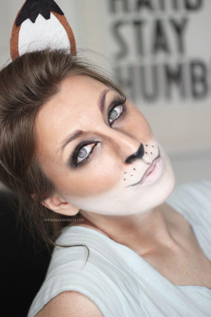 Fox Makeup Tutorial for Halloween | Wonder Forest: Design Your Life.