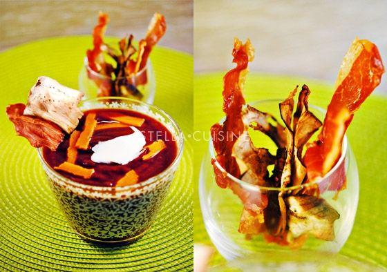 Recette de velouté pourpre aux carottes violettes, potimarron et patates douces | StellA Cuisine !!! Recettes faciles, Recettes pas chères, Recettes rapides