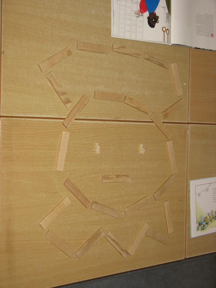 Constructie: Pietje van kapla. activiteit voor de midden en of bovenbouw.