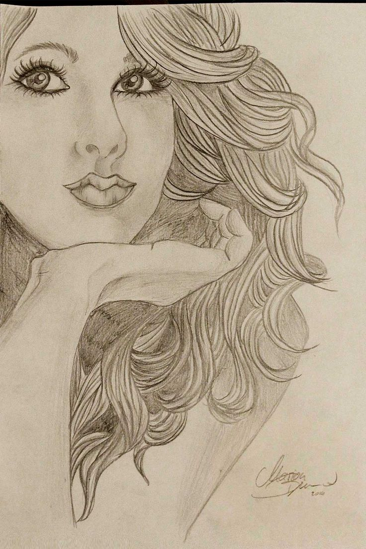 how to draw taylor swift hair