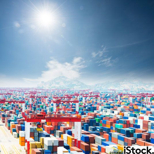 Today's image of the day is a bird's-eye view of a colourful harbour: http://bit.ly/heavenly-harbourside @istock #promotion