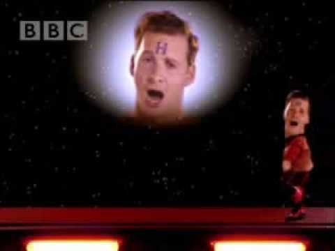 I dare anyone to come up with an odder, weirder, and sillier tv musical number than the Red Dwarf - Rimmer Experience. You'll be humming the tune - I warn you.