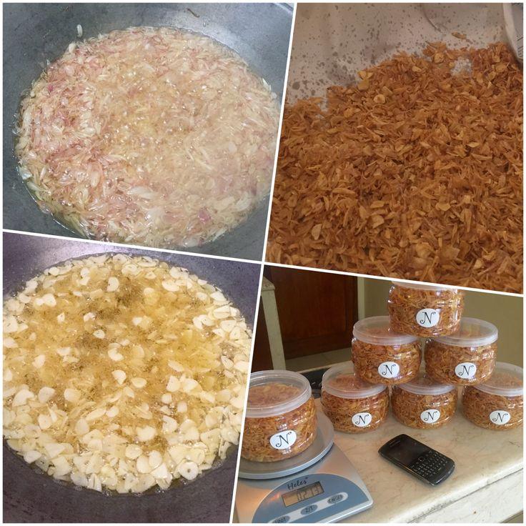 Homemade Crispy fried onion