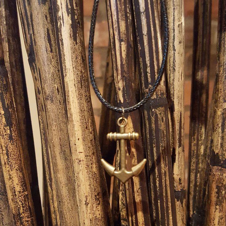 Men's Necklace - Men's Anchor Necklace - Men Jewelry - Necklaces For Men - Jewelry For Men - Gift for Him