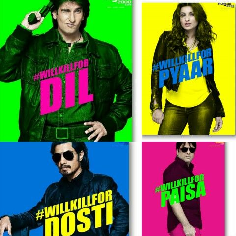 Kill Dil, an upcoming movie by Yash Raj Films starring Ranveer Singh, Ali Zafar, Parineeti Chopra, Rocky Verma & Govinda. Kill Dil is directed by Shaad Ali which is all set to release worldwide 14th November 2014 under the Yash Raj Film Banner.  Ranveer Singh #WillKillForDil. Parneeti Chopra #WillKillForPyar. Ali Zafar #WillKillForDosti.Govinda #WillKillForDil How about you!? #WillYouKillFor ?