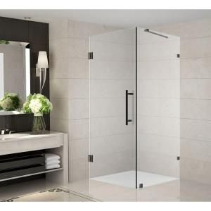 Aston Vanora 32 in. x 32 in. x 72 in. Completely Frameless Square Shower Enclosure in Oil Rubbed Bronze-SEN989-ORB-32-10 - The Home Depot