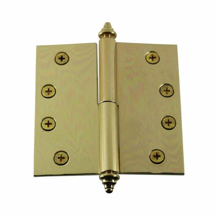 how to take door hinges off
