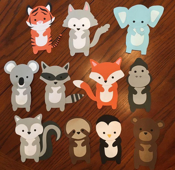 Animal door decs/door tags I made for the spring! Part 1. -Aryanah Assar