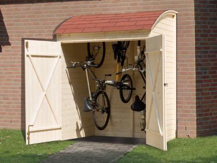 die besten 25 fahrradbox ideen auf pinterest m lltonnenhaus m lltonnenh uschen und fahrradgarage. Black Bedroom Furniture Sets. Home Design Ideas