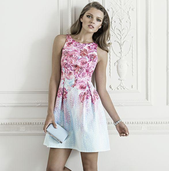 Anita Printed Tulip Dress AU$149.99 http://www.forevernew.com.au/belle-amore#0