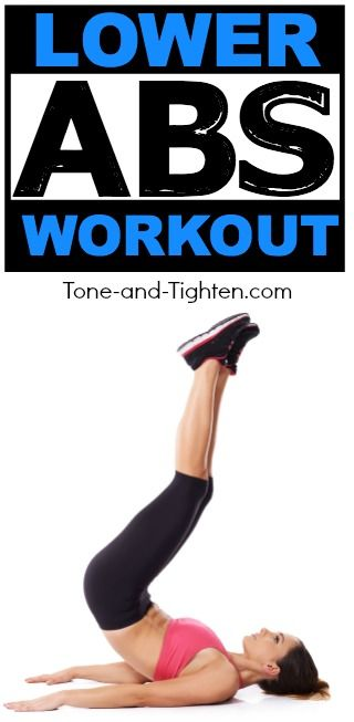 6 of the best exercises to tone and tighten your lower abs! | Tone-and-Tighten.com
