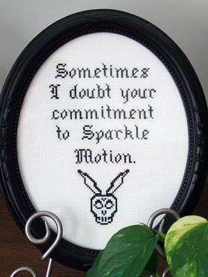 Sometimes I doubt your commitment to Sparkle Motion. @Samantha Scrivner