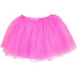 Three Layer Ballet Dress-up Fairy Tutu - Fuchsia
