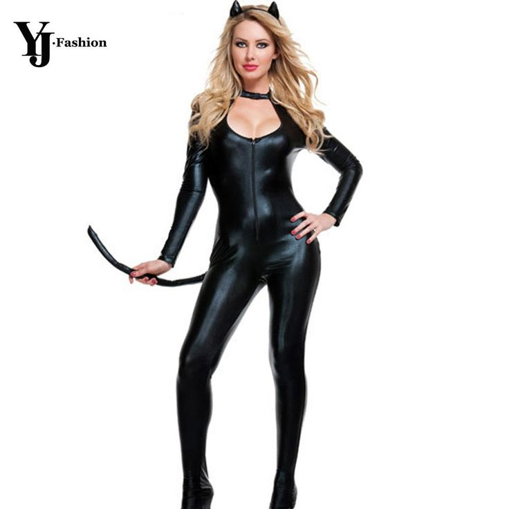 Costumes for Women. Special Use: CostumesGender: WomenModel Number: NYF676Components: Jumpsuits & RompersSource Type: AnimeMaterial: PolyesterCharacters: Adult Cat