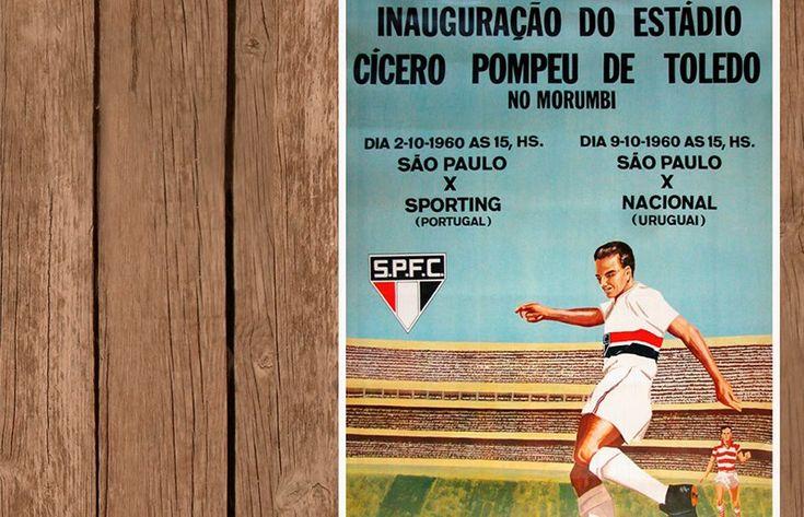 54 anos da inauguração do Morumbi Faça o download do e-book especial em http://www.saopaulofc.net/noticias/noticias/historia/2014/10/2/54-anos-da-inauguracao-do-morumbi/ (site oficial saopaulofc.net)