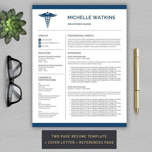 Medical Resume   Nurse CV by Pro.Graphic.Design on @mywpthemes_xyz