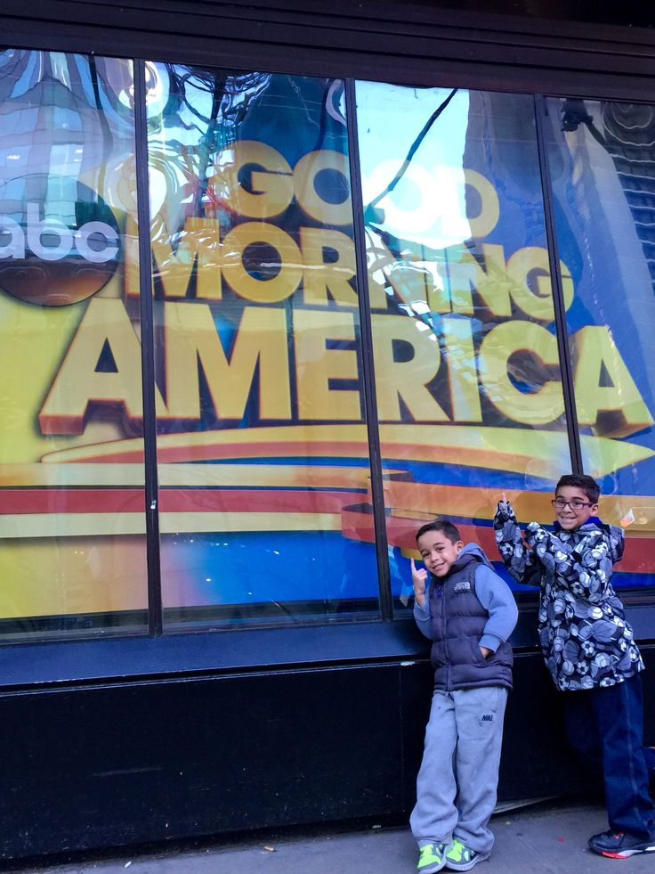Good Morning America Shark Tank Your Life was amazing! Getting ready to talk about Are You Kidding? socks and our kid entrepreneurs. www.areyoukidding.net