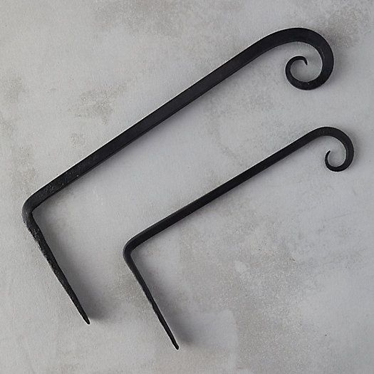 Forged Iron Plant Hanger Black Thumb Iron Plant Plant Hanger