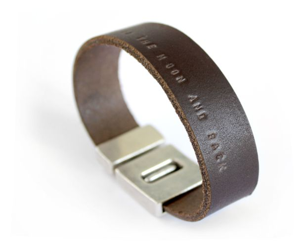 armband-leer-leren-heren-mannen-mannenarmband-gepersonaliseerd-met tekst-sierkracht-band of brothers b