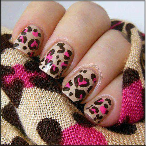schön  nägel leopardenmuster 5 besten