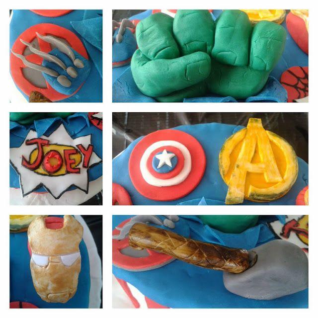 Marvel Avengers 10th Birthday Cake