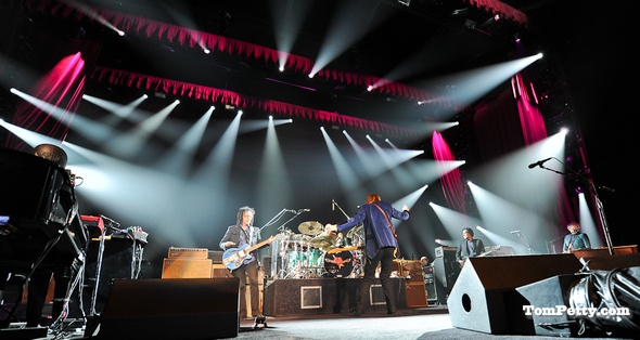 Tour openers can be anxious occasions, but you'd never have guessed it had you been at Colorado's 1st Bank Center Wednesday night for Tom Petty & the Heartbreakers' first show of their 2012 Tour.