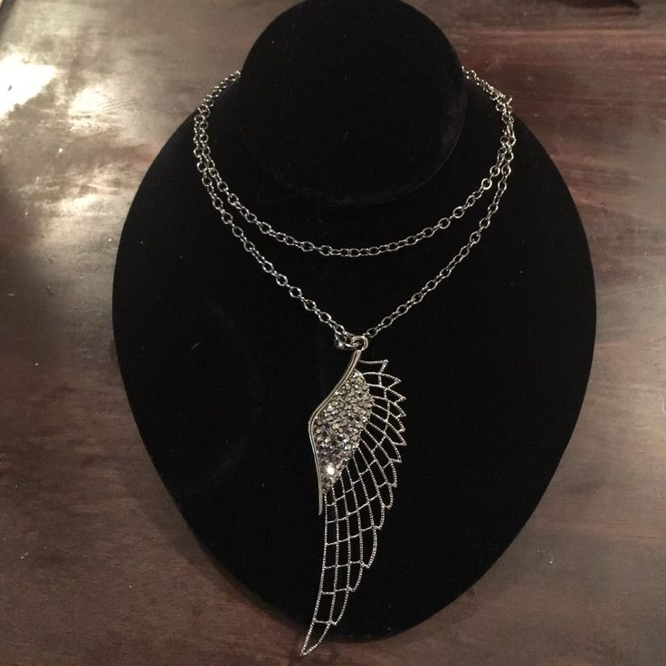 Angel Wing Necklace - Mercari: Anyone can buy & sell