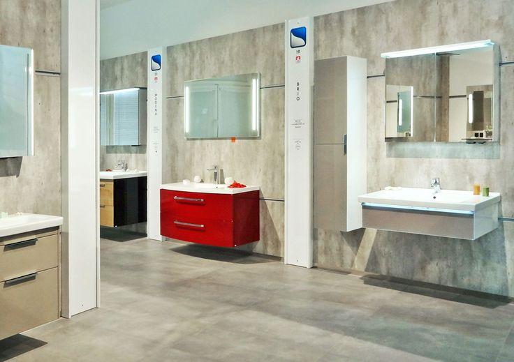 Vzorková prodejna - Koupelnový nábytek Dřevojas ve Svitavách - inspirace do bytu