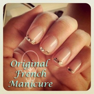 French Manicure.... very cute