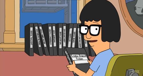 Bob's Burgers - Tina's erotic fiction
