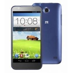 """ZTE V956 (en varios idiomas) 4.5 """"capacitiva táctil Android 4.1 854x480 Quad Core MSM8225Q 1.2GHz 512MB de RAM y 4 GB de ROM 3G Smartphone con GPS / A-GPS, cámara dual (azul)"""