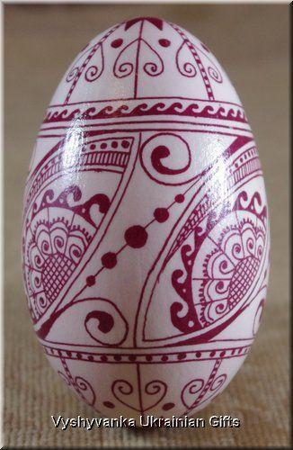 Definitely my next goose egg!! I love bleached eggs!!