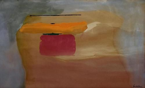 Winter Energy, 1972 Acrylic on canvas 36 x 58 ½ inches