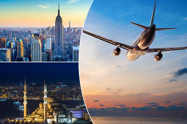 Nyc Is The Most Populous City In The Us And One Of The Major Financial Hubs As Well Which Is Well Connected To Istanbul If You Know Wh Cheap Flights International Flight